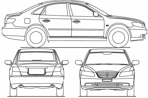 Hyundai Grandeur (2008)
