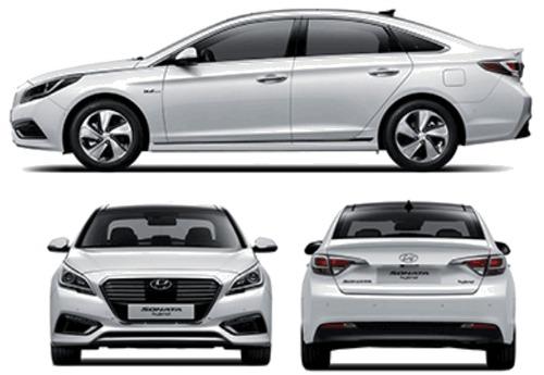Hyundai Sonata Hybrid (2015)