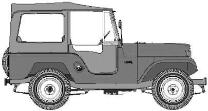 IKA Jeep CJ5