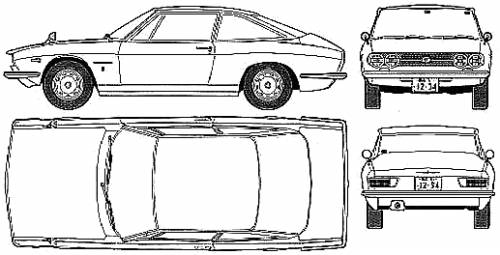 Isuzu 117 Coupe (1969)