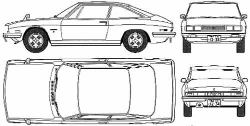 Isuzu 117 Coupe (1973)