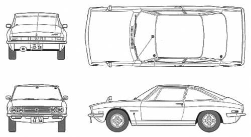 Isuzu 117 Coupe Early Type