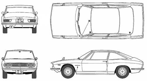 Isuzu 117 Coupe Handmade