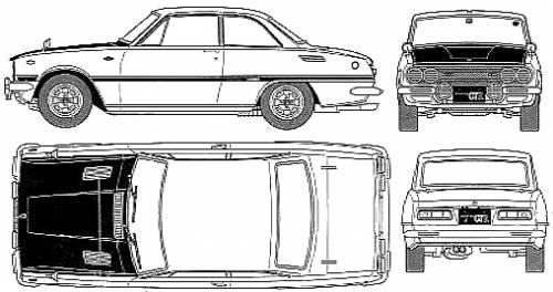 Isuzu Bellett 1600GTR (1969)