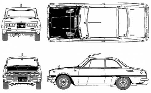 Isuzu Bellett 1600GTR Early Type (1969)