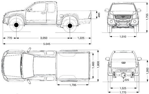 Isuzu D-Max Space Cab 4x4 (2007)