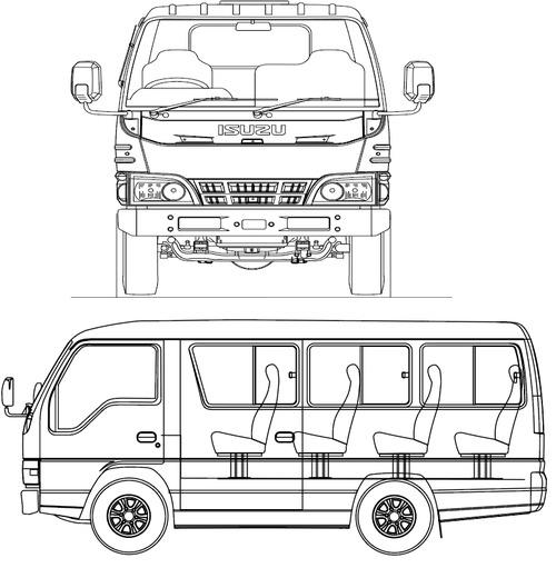 Isuzu Elf NKR 55 Microbus (2015)