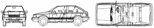 Isuzu Gemini FF (1988)