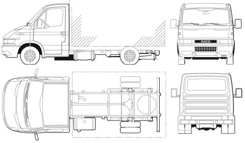 Iveco Daily 45C14 Cab Chassis