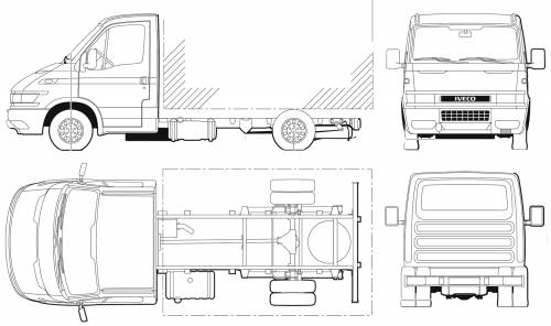 Iveco Daily 50C14 Cab Chassis