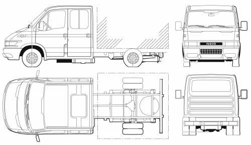 Iveco Daily 50C17 Crew Cab