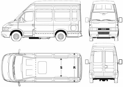 Iveco Daily 50C17 Van