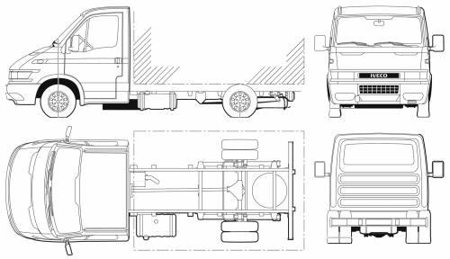 Iveco Daily 65C17 Cab Chassis