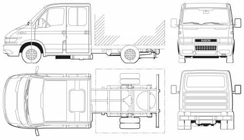 Iveco Daily 65C17 Crew Cab