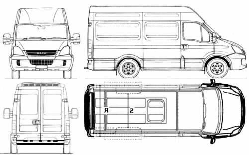Iveco Daily Furgoni Minivan (2008)