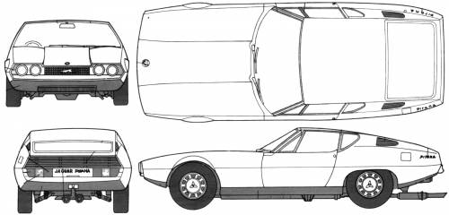 Bertone Jaguar Pirana