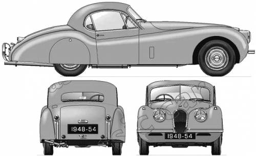 Jaguar 120 Fixed Head Coupe (1948)