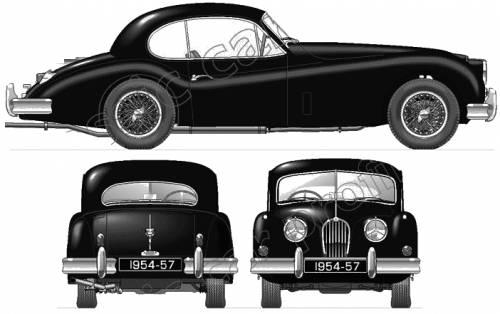 Jaguar 140 Coupe (1954)