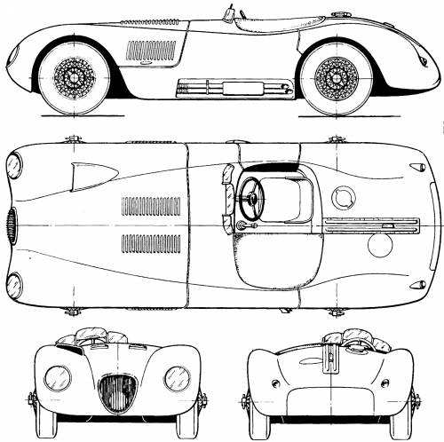 Jaguar C-Type (1951)