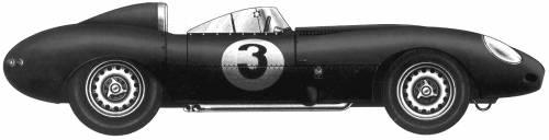 Jaguar D-Type Le Mans (1955)