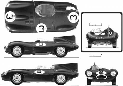 Jaguar D-type LeMans (1954)