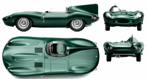 Jaguar D-Type Long-Nose (1956)