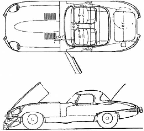 Jaguar E-Type 4.2 Roadster (1967)