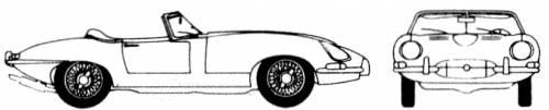 Jaguar E-Type 4.2 Roadster SII (1967)