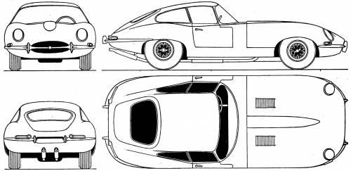 Jaguar E-Type Coupe (1961)