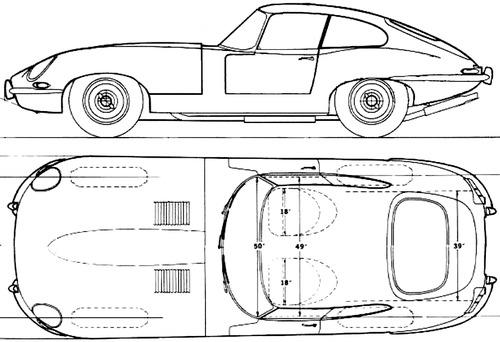 Jaguar E-Type Coupe (1967)