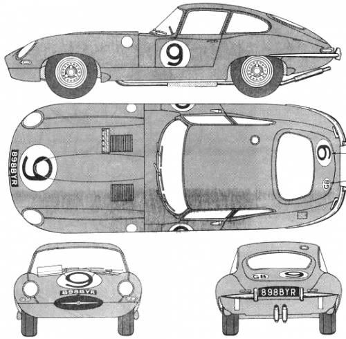 Jaguar E Type FHC
