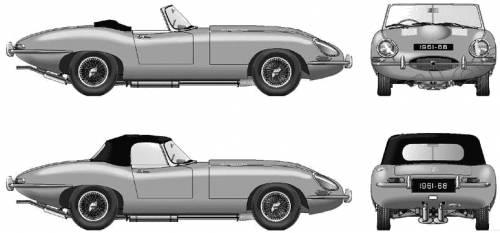Jaguar E Type Roadster (1961)