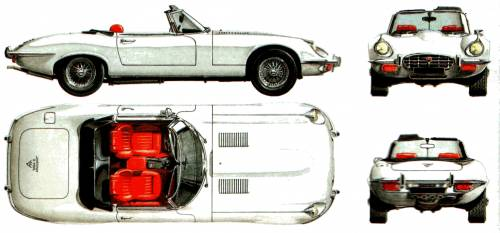 Jaguar E-Type S3 V12 Convertible (1973)