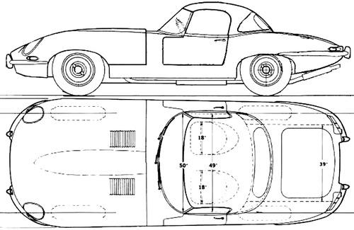 Jaguar E-Type SII Roadster (1967)