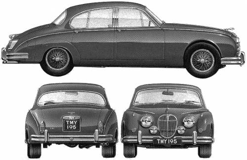 Jaguar Mark II Saloon (1959)