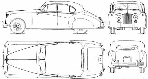 Jaguar Mark VII (1953)