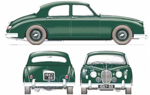 Jaguar Mk.I 3.4 (1957)