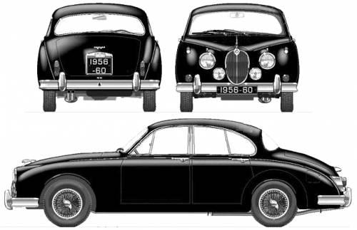 Jaguar Mk.II 3.4 (1960)