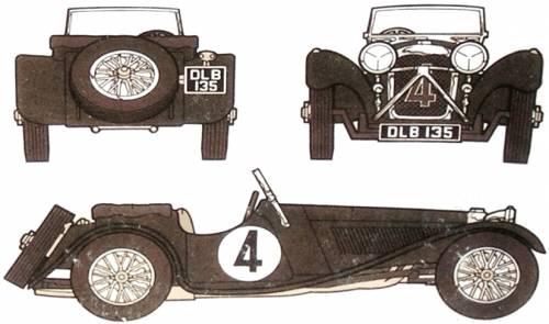 Jaguar SS100-2