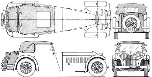 Jaguar SS1 (1932)