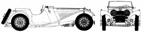Jaguar SS 100 (1936)