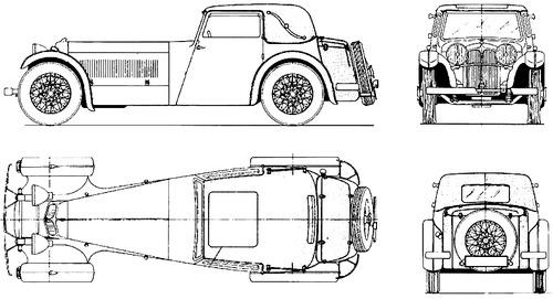 Jaguar SS 1 (1932)
