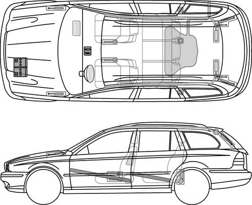 Jaguar X Type Estate (2008)
