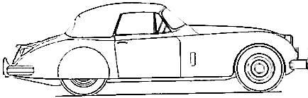Jaguar XK150 (1958)