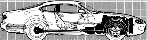 Jaguar XK8 Coupe (1999)
