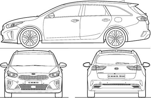 Kia Ceed Sportwagon GT (2019)