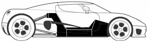Koenigsegg CC (2004)