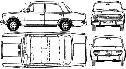 Lada 1200 VAZ-2101 Zhiguli