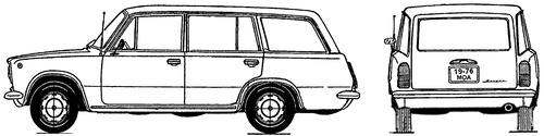 Lada 1200 VAZ-2102 Zhiguli Kombi