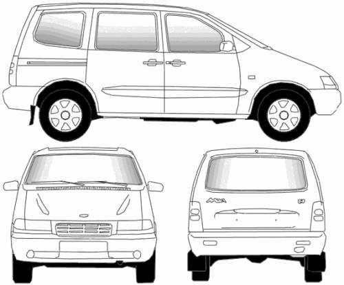 Lada Nadezhda VAZ-2120 (2002)